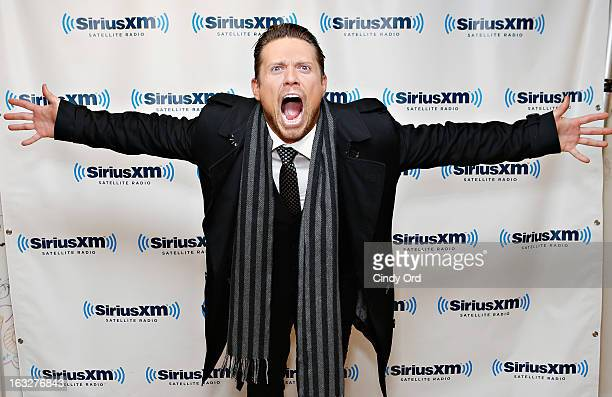 Superstar Mike 'The Miz' Mizanin visits the SiriusXM Studios on March 6 2013 in New York City