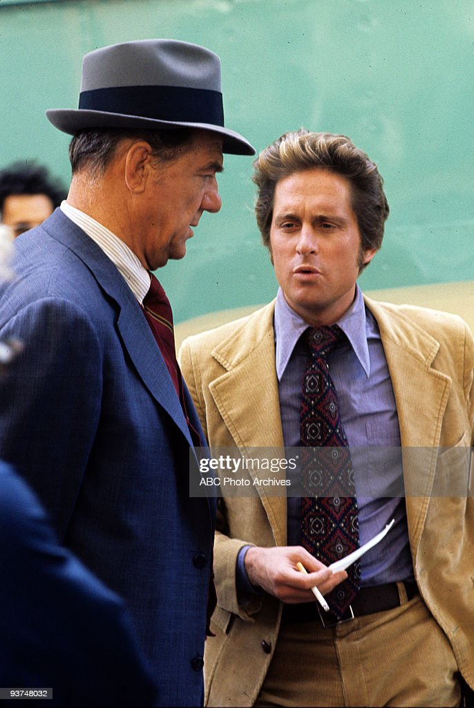 FRANCISCO - 'Superstar' - Season Four - 3/4/76, Stone (Karl Malden) clashed with an abrasive New York City cop who was on the trail of his partner's killer. Michael Douglas (Keller) also starred.,