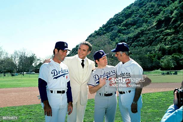 ISLAND Superstar Season One 3/25/78 Accountant Richard C Delaney/Paul Hughes guest star Gary Burghoff second from right with Los Angeles Dodgers...