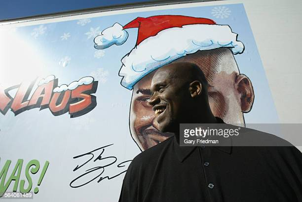 NBA superstar Shaquille O'Neal returned to LA for a special engagement–playing Shaq–a–Claus to the children of Los Angeles For the eighth time...