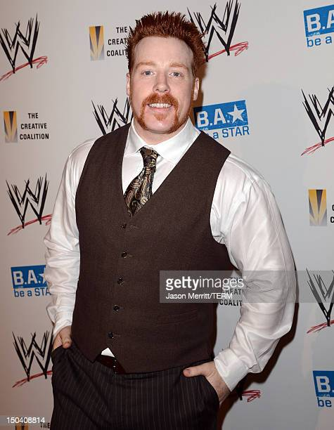 Superstar Sheamus attends the WWE SummerSlam VIP Kick-Off Party at Beverly Hills Hotel on August 16, 2012 in Beverly Hills, California.