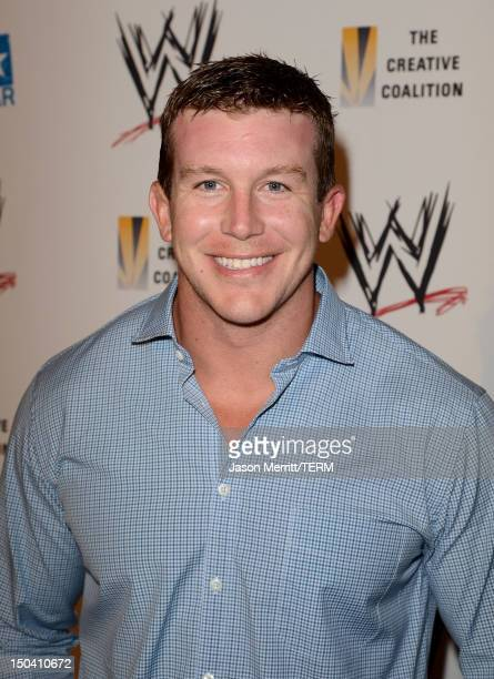 Superstar Ted DiBiase attends the WWE SummerSlam VIP Kick-Off Party at Beverly Hills Hotel on August 16, 2012 in Beverly Hills, California.