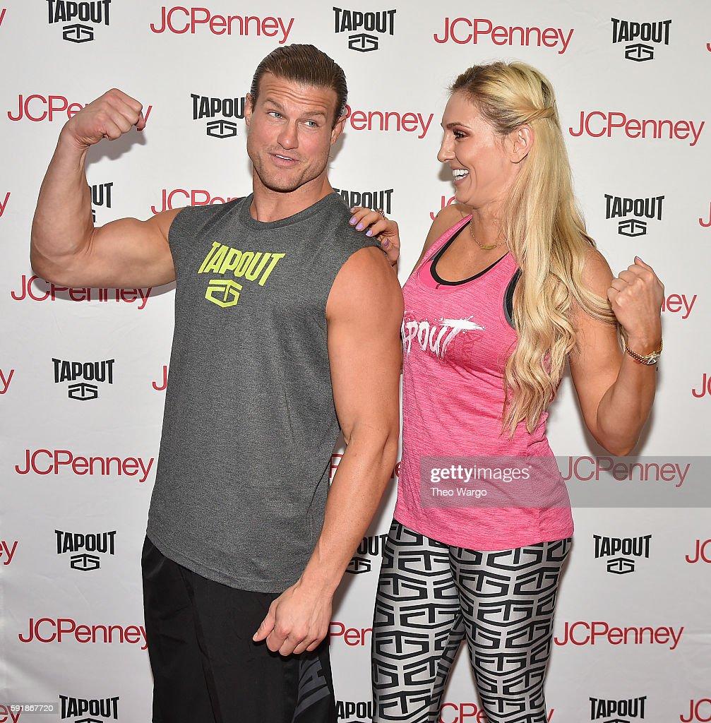 WWE Superstars Dolph Ziggler And Charlotte Meet & Greet : News Photo