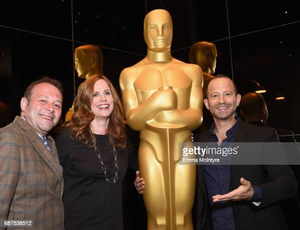 Supervising Producer Pat King CoExecutive Producer Alison Camillo and Producer/contributer Mike Rubens at the Full Frontal with Samantha Bee FYC...