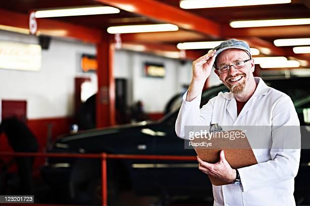 Supervisor at auto workshop