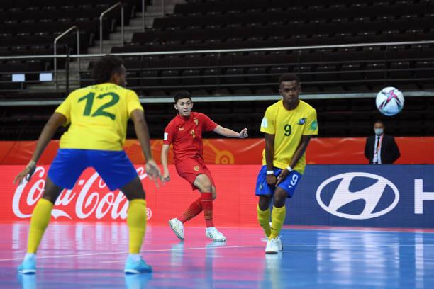 LTU: Solomon Islands v Thailand: Group C - FIFA Futsal World Cup 2021
