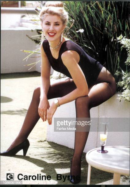 Supplied photo of model Caroline Byrne, who died at The Gap in June 1995.