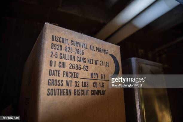 Supplies are found in an intact fallout shelter dating from 1962 under the Adams bilingual school campus in Adams Morgan September 22 2017