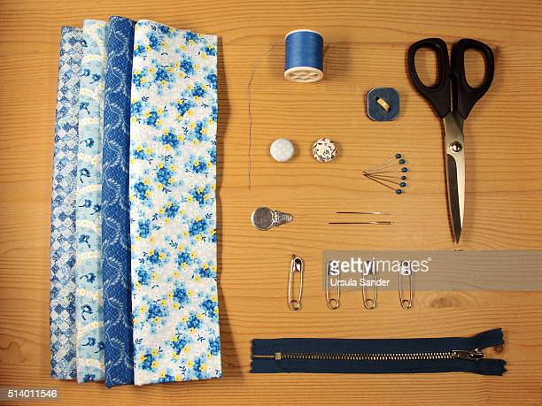Supplies for sewing a cushion cover