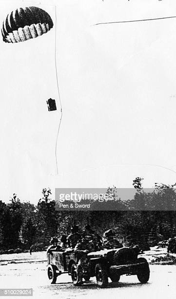 Supply drop in Arnhem September 1944 France