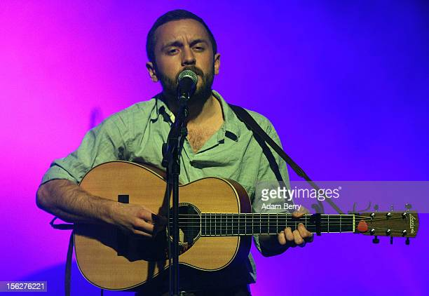 Support act Ian Fisher performs in Heimathafen Neukoelln on November 12, 2012 in Berlin, Germany.