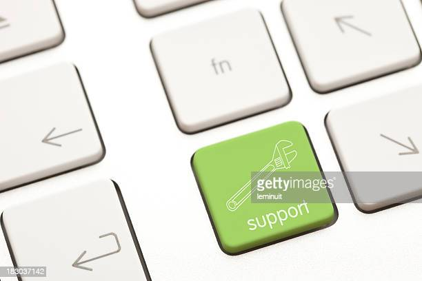 Support and service key