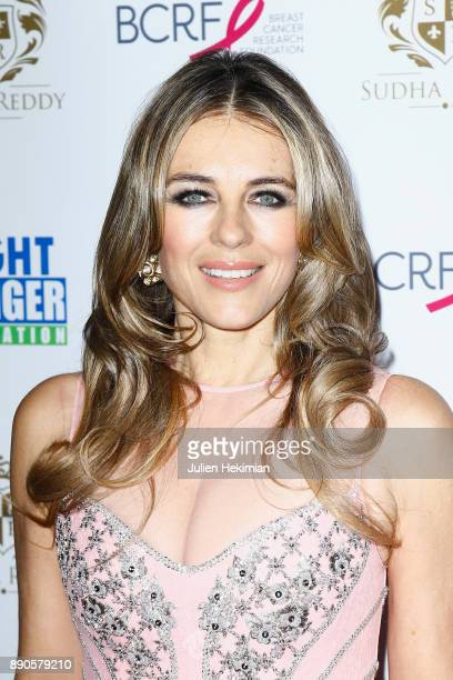 Support of 'Breast Cancer Research Foundation' actress Elizabeth Hurley attends Indian millionaire Sudha Reddy gives 135000 Euros to the 'Action...