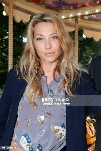 Support of the Fete des Tuileries Laura Smet attends the Fete Des Tuileries on June 22 2018 in Paris France