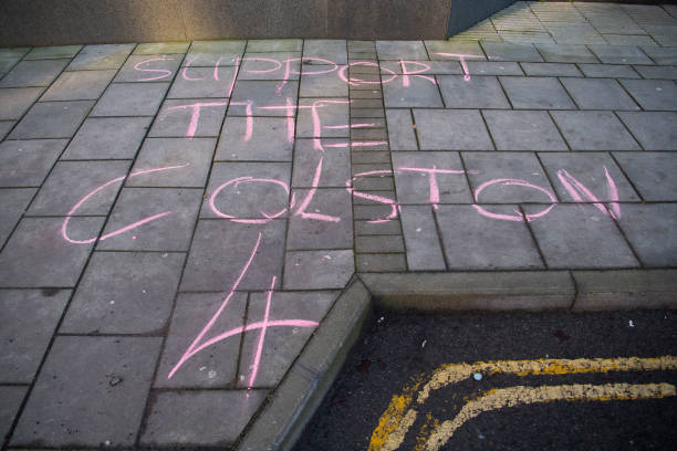GBR: Court Hearing For Four Charged In Toppling Of Colston Statue