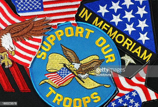 Support US Troops Patches