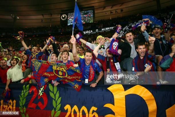 Supporter de Barcelone Fc Barcelone / Arsenal Finale de la Ligue des Champions Stade de France Paris