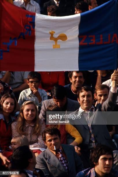 Supporter de la France Bulgarie / France Qualification pour la Coupe du Monde 1978 Sofia Bulgarie