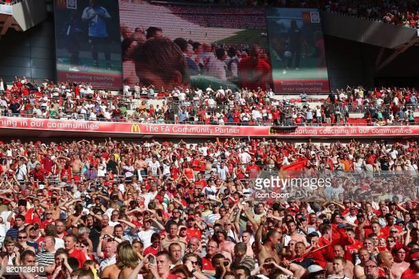 Supporter de Manchester United Manchester United / Chelsea Community Shield Wembley Londres