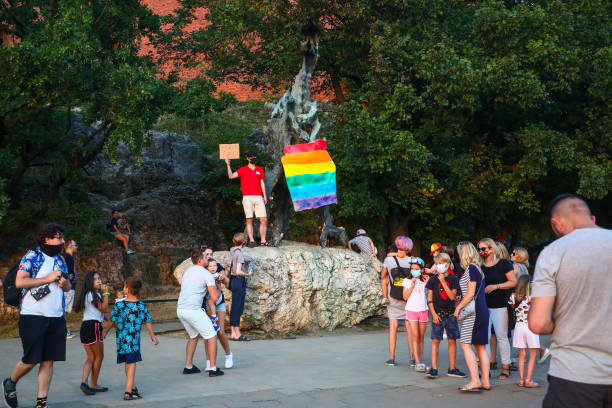 POL: Protests In Poland Demanding Release Of LGBT Activist