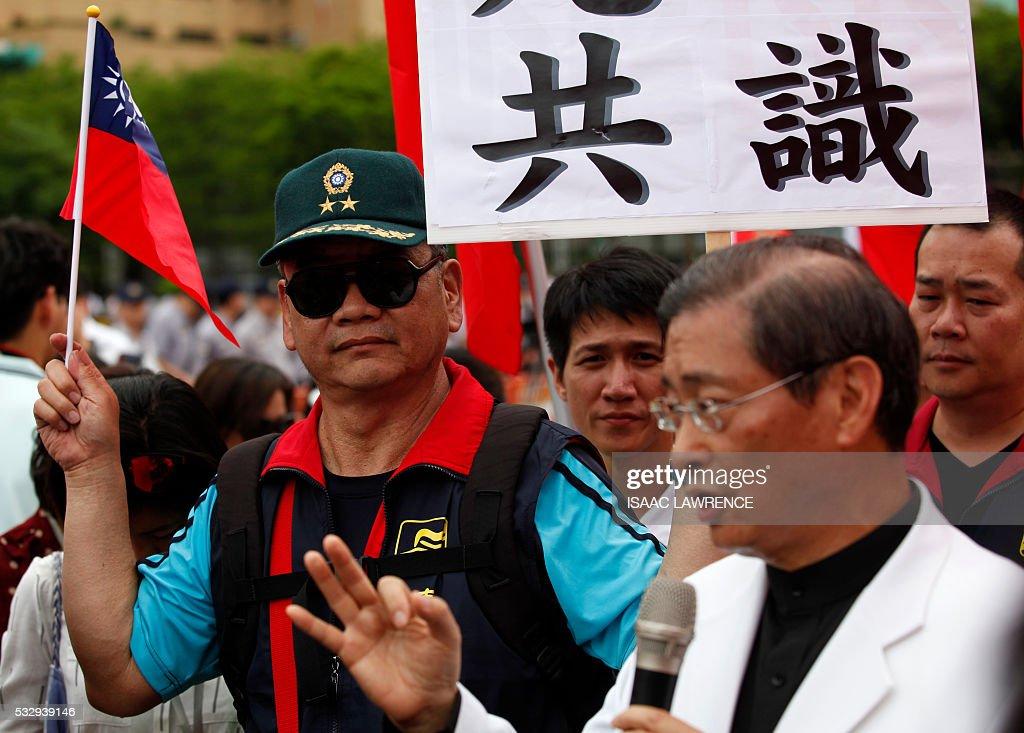 TAIWAN-CHINA-POLITICS-INAUGURATION : Foto di attualità