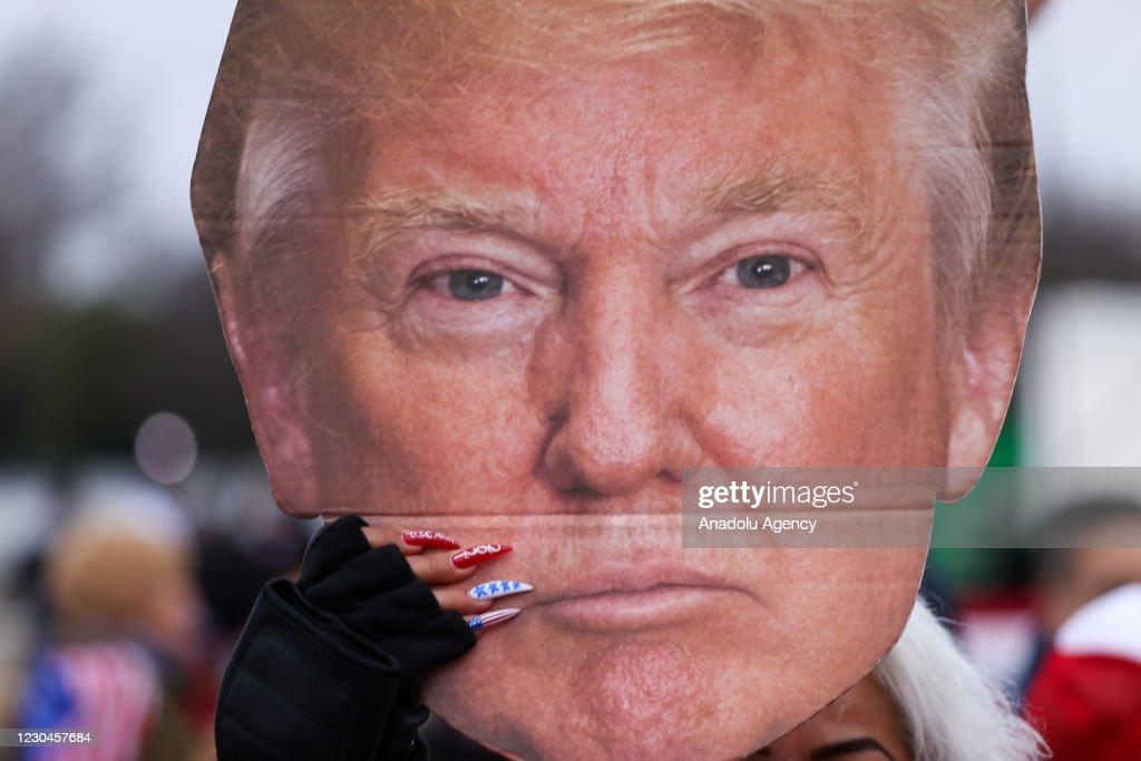 Save America Rally in Washington : News Photo