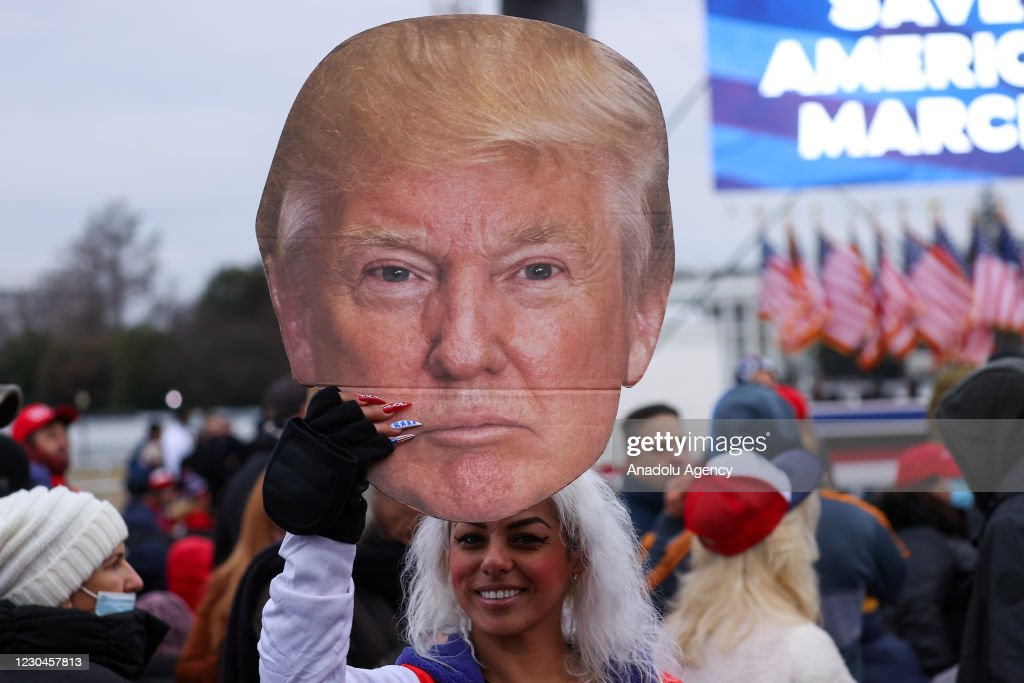 Save America Rally in Washington : ニュース写真