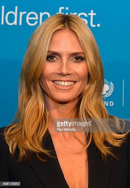 Supporter, Honoree, 2014 Childrens Champion Award Heidi Klum attends the 2014 UNICEF Children's Champion Award Dinner at The Four Seasons Hotel on...