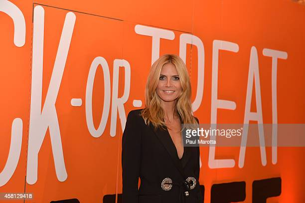 Supporter Honoree 2014 Childrens Champion Award Heidi Klum attends the 2014 UNICEF Children's Champion Award Dinner at The Four Seasons Hotel on...