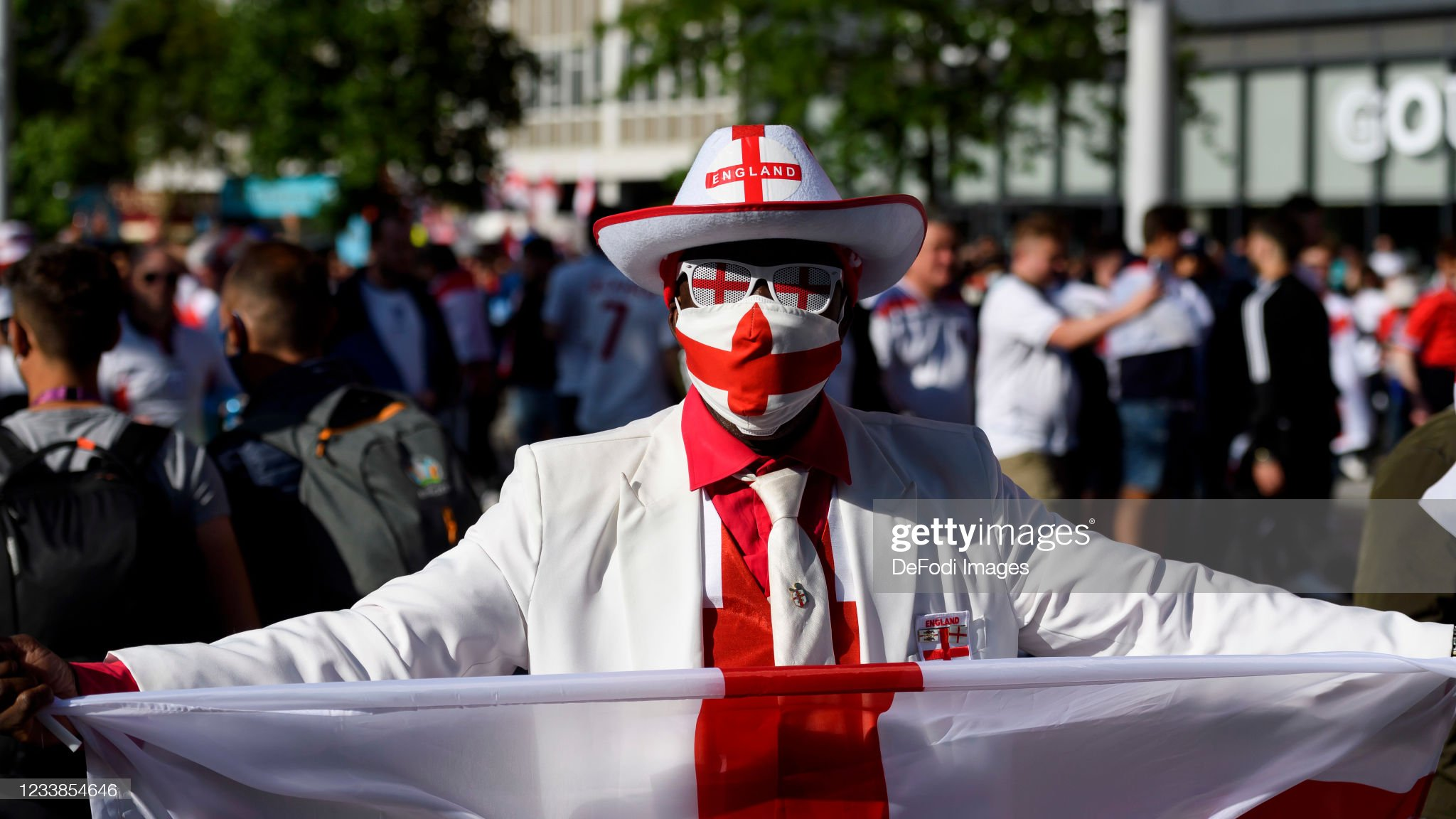 England v Denmark  - UEFA Euro 2020 - Semi-final : News Photo