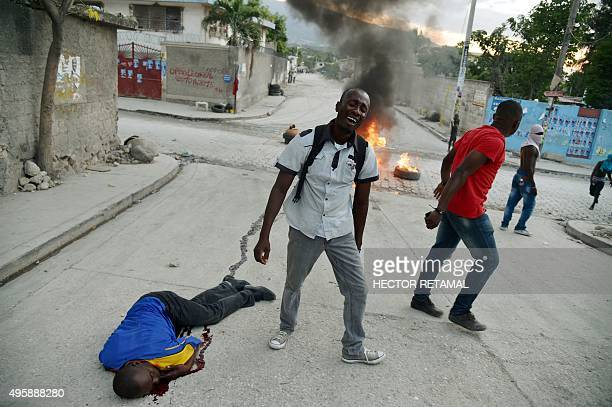 A supporter of presidential candidate Moise Jean Charles shot dead minutes after the Provisional Electoral Council gave the results of the first...