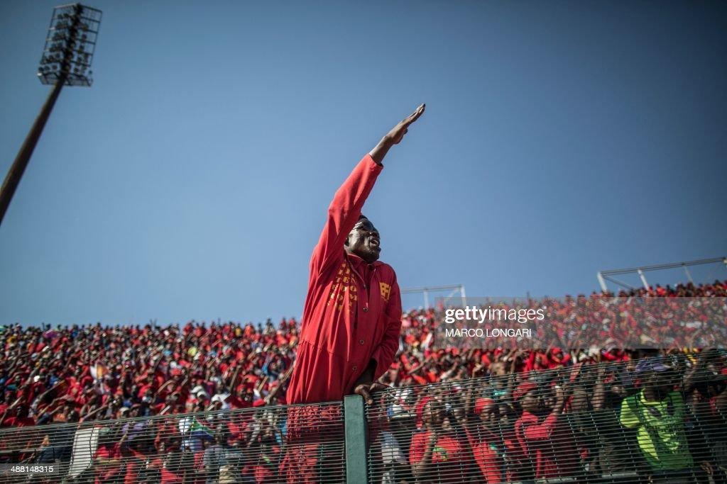 SAFRICA-POLITICS-VOTE-EFF-RALLY : News Photo