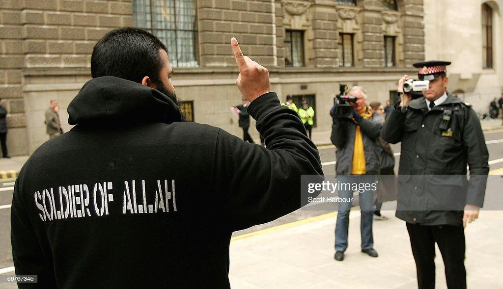 Abu Hamza Sentenced To Seven Years In Jail : News Photo