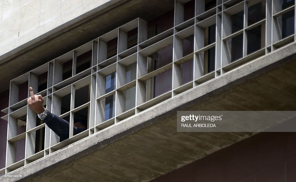 VENEZUELA-POLITICS-OPPOSITION-LOPEZ : News Photo