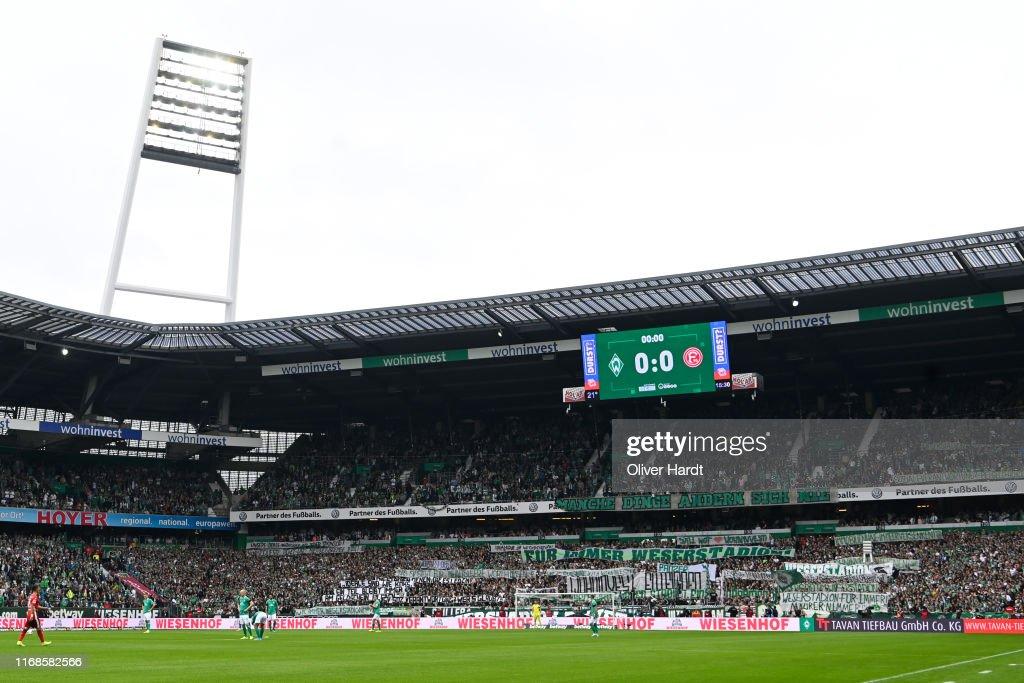 SV Werder Bremen v Fortuna Duesseldorf - Bundesliga : ニュース写真
