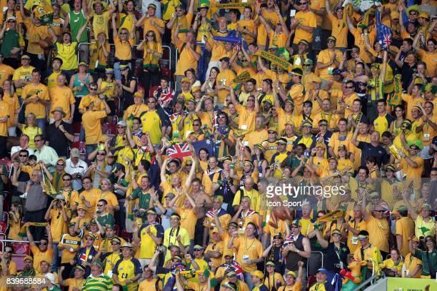 Supporters Australie Australie / Japon Coupe du Monde 2006