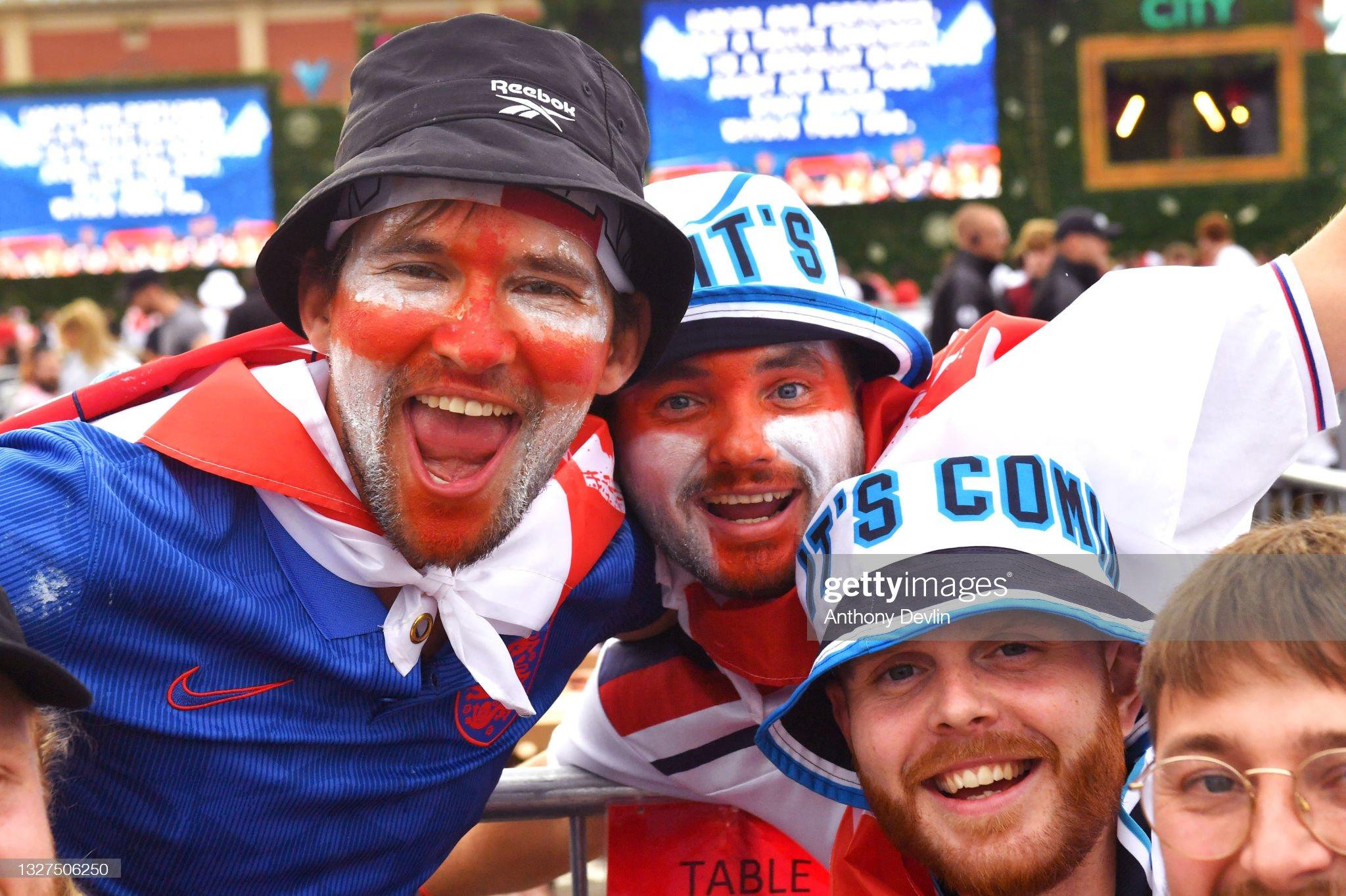 England Play Denmark In The Euro 2020 Semi Final : News Photo