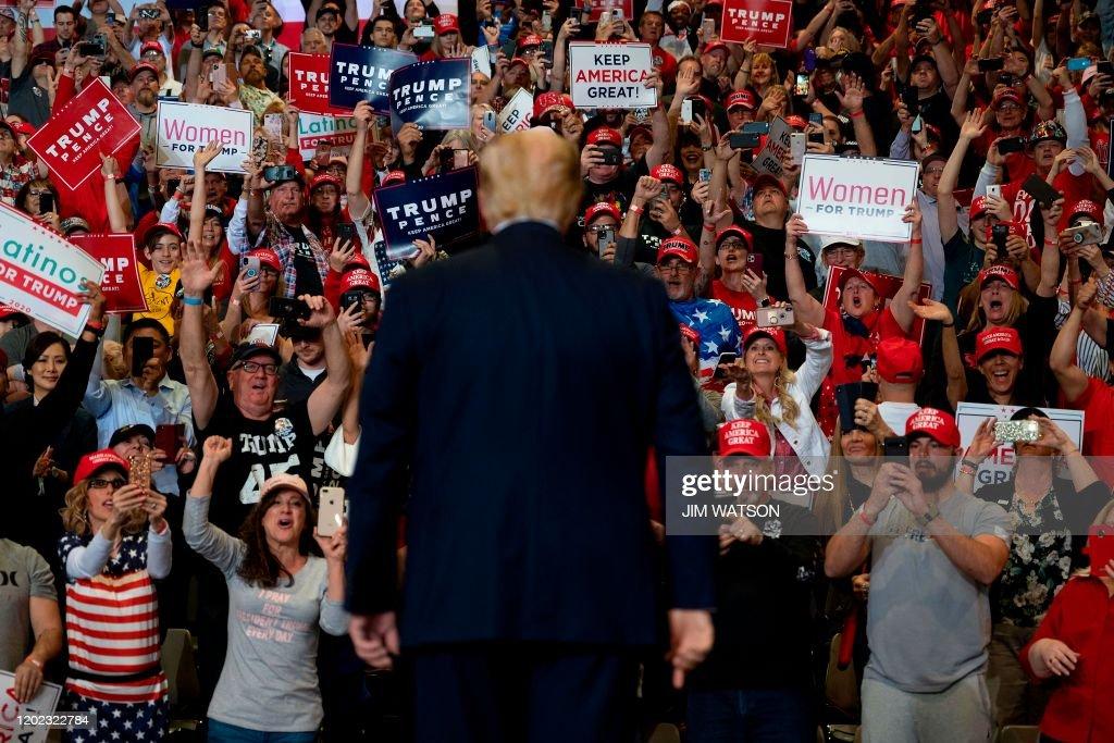 TOPSHOT-US-politics-Trump-election : ニュース写真