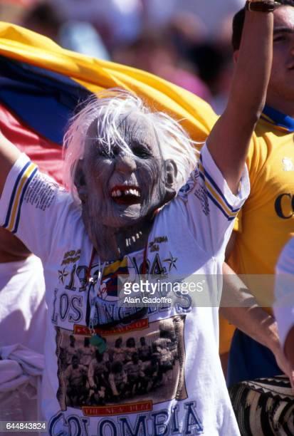 Supporters Colombie Etats Unis / Colombie Coupe du Monde 1994 Photo Alain Gadoffre / Icon Sport