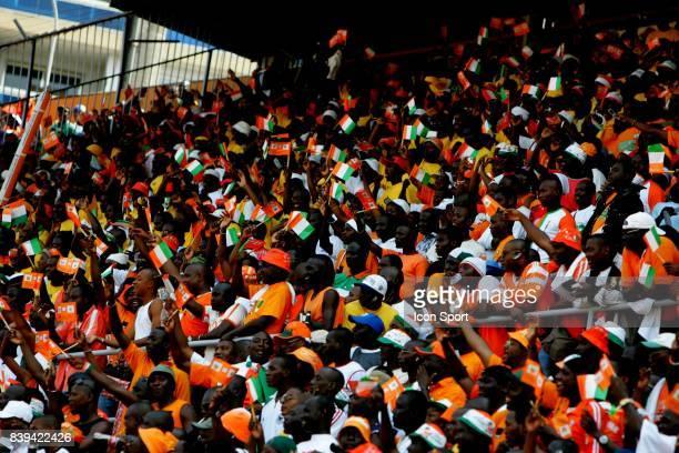 Supporters Cote d Ivoire Cote d'Ivoire / Cameroun Eliminatoires Coupe du Monde