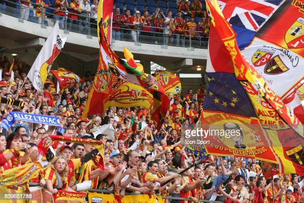 supporters de Lens Troyes / Lens 38 eme journee de Ligue 1