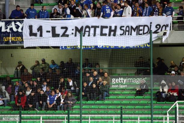 Supporters de Troyes Troyes / Boulogne 14 eme journee de Ligue 2