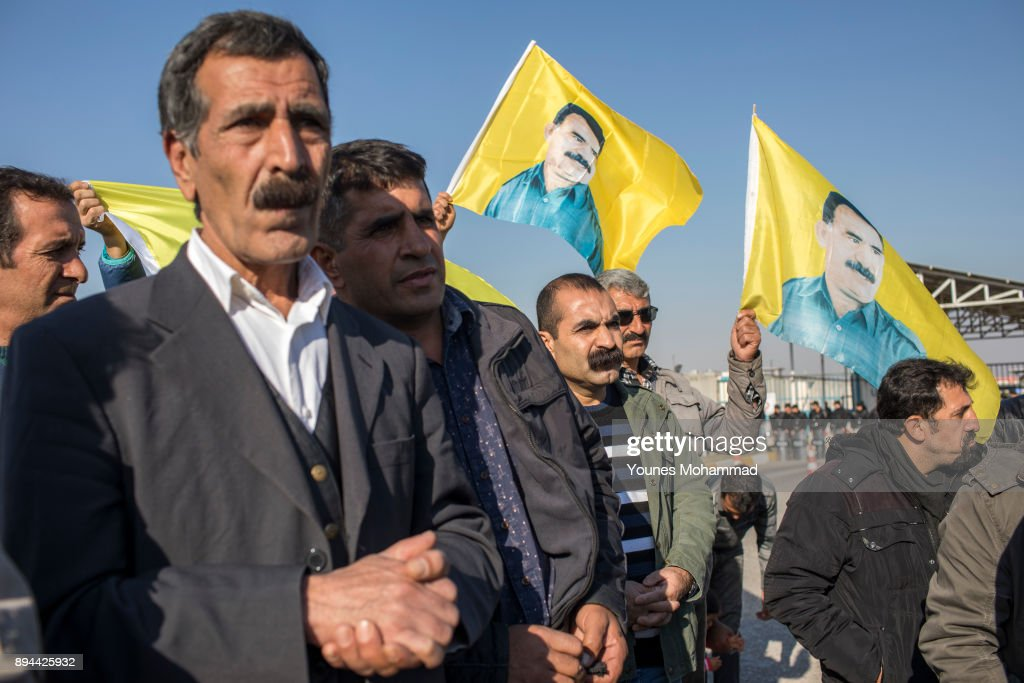 PKK Supporters Hold Demonstration Against Turkey