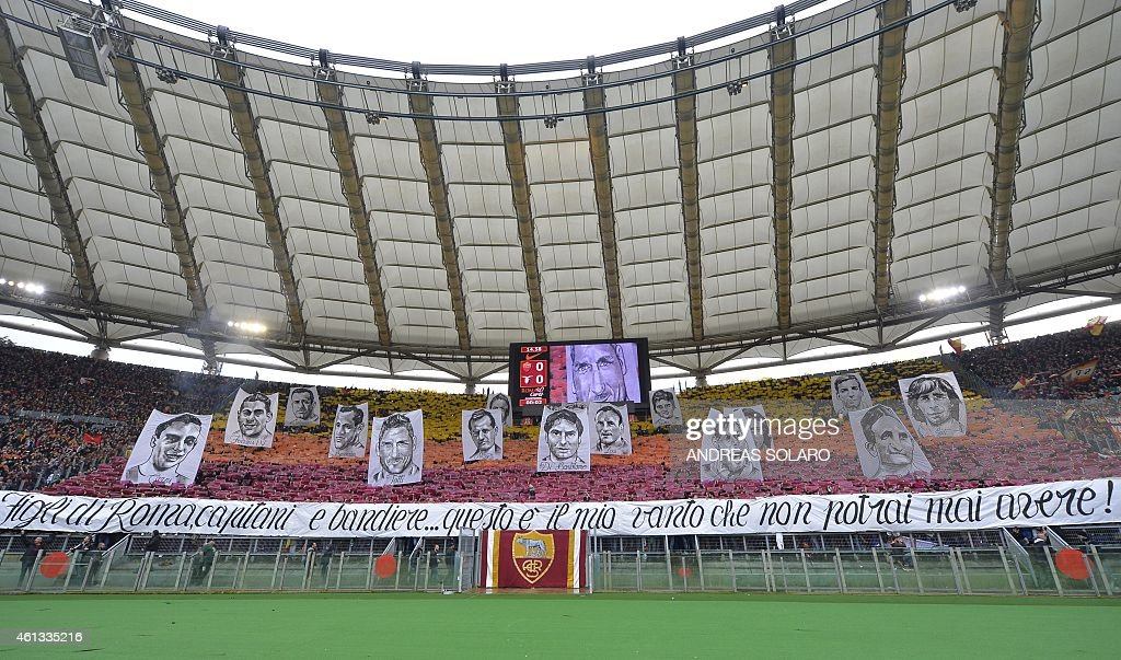 FBL-ITA-SERIEA-ROMA-LAZIO : News Photo