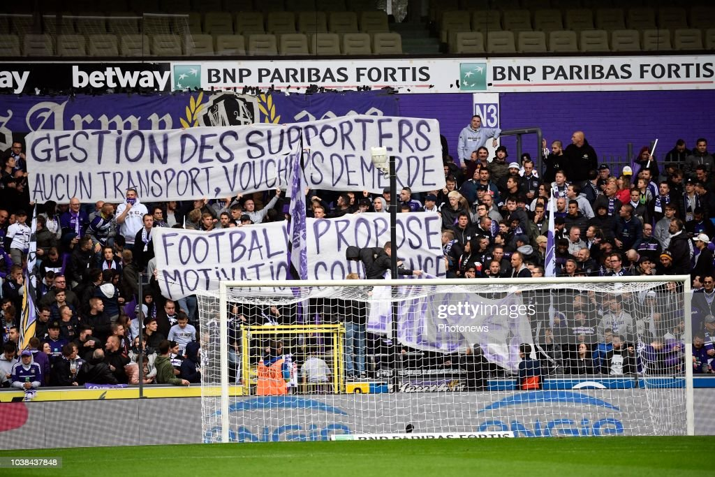 RSC Anderlecht v Royal Standard de Liege - Jupiler Pro League