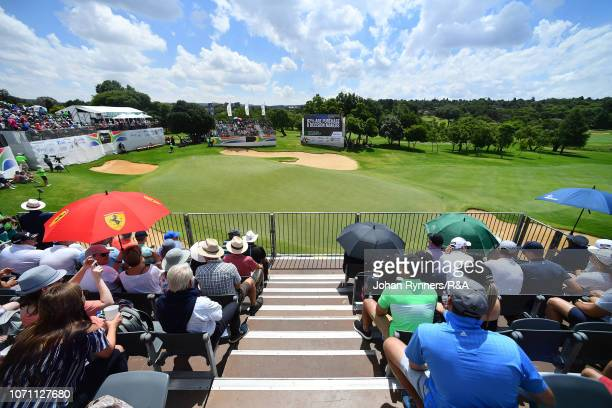 Supporters during The Open Qualifying Series, part of the South African Open at Randpark Golf Club on December 9, 2018 in Johannesburg, South Africa.