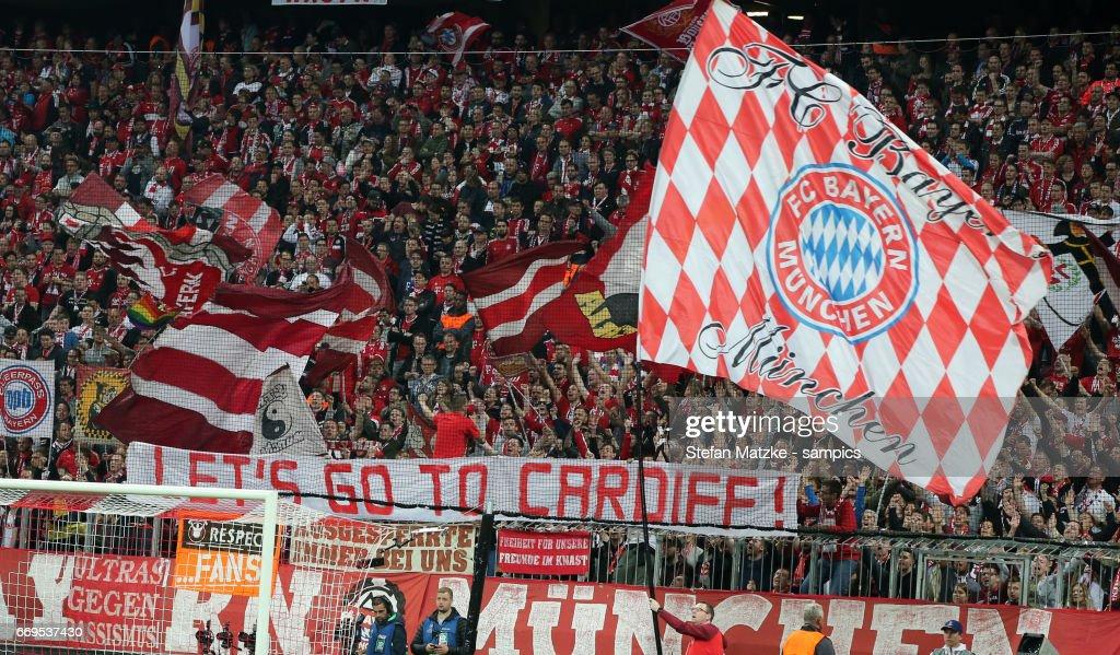 FC Bayern Muenchen v Real Madrid CF - UEFA Champions League Quarter Final: First Leg : News Photo