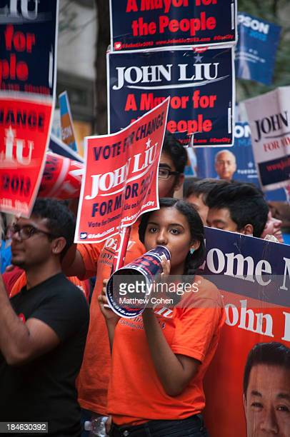 CONTENT] Supporters for New York City Comptroller John Liu rally to support the candidate before the final debate of the primary season Though Liu...