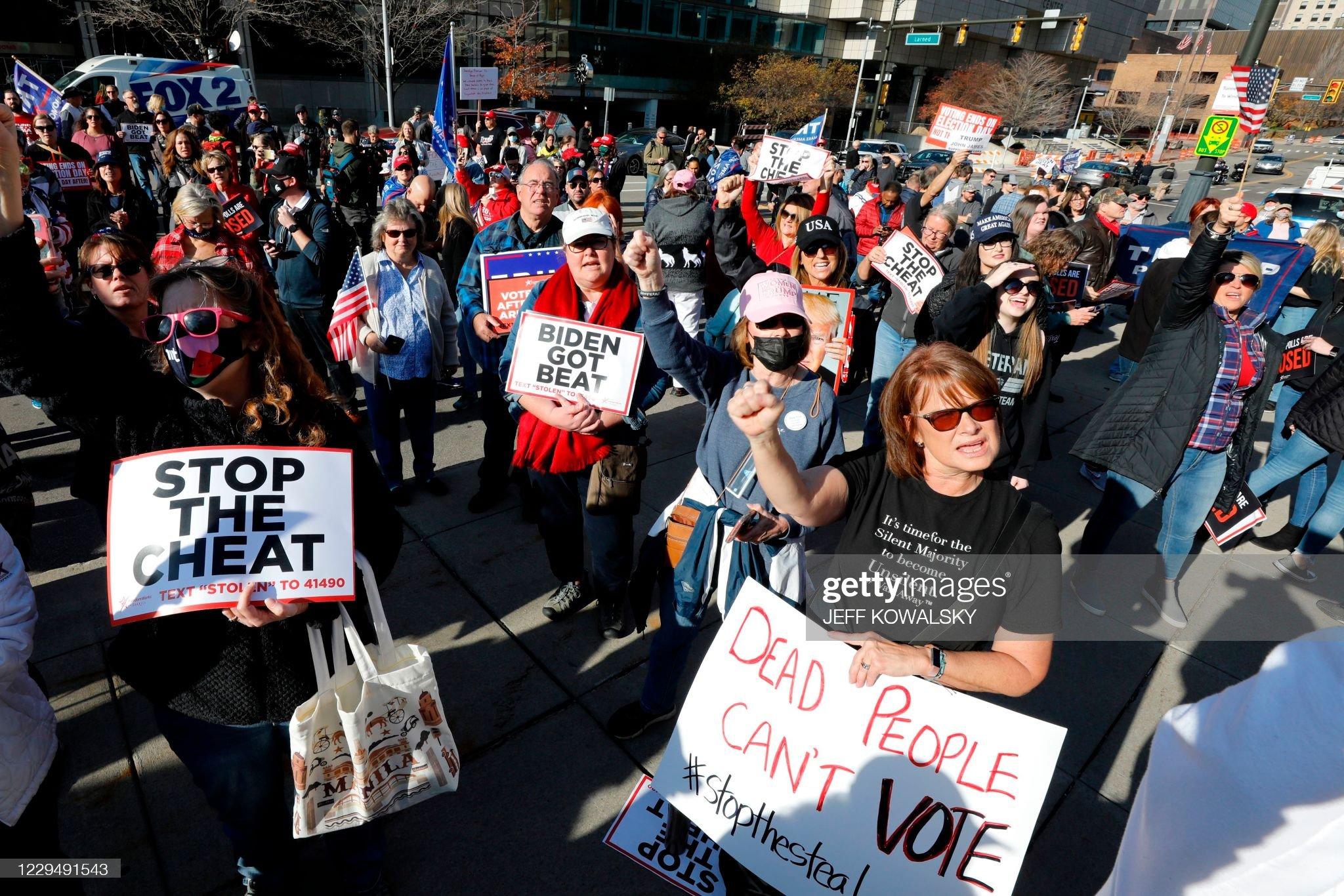 US-VOTE-PROTEST : News Photo