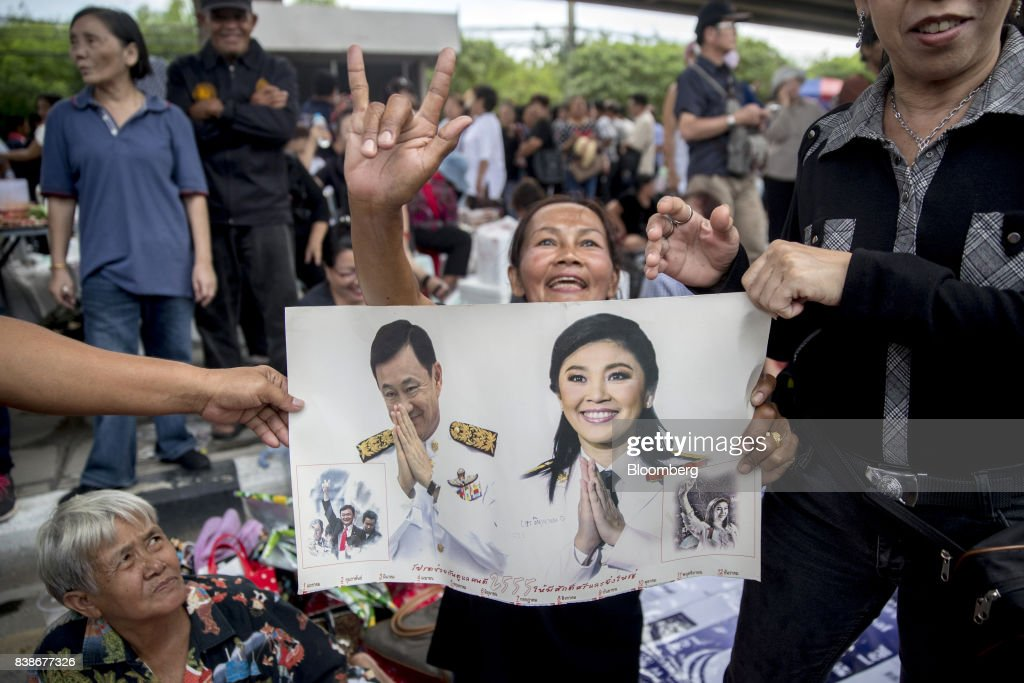 Yingluck's Whereabouts Unknown as Thai Court Issues Warrant : News Photo
